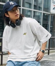 Mark Gonzales/マークゴンザレス MONO-MART別注 ビッグシルエット胸刺繍 半袖Teeホワイト