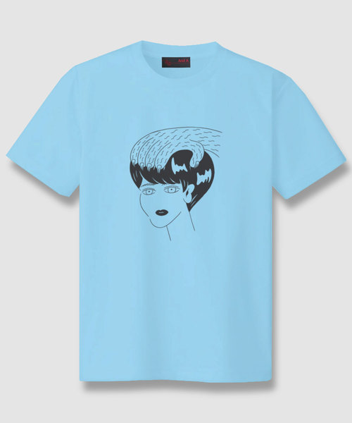 And A x Emi Ozaki graphic S/S TEE グラフィック 半袖  Tシャツ