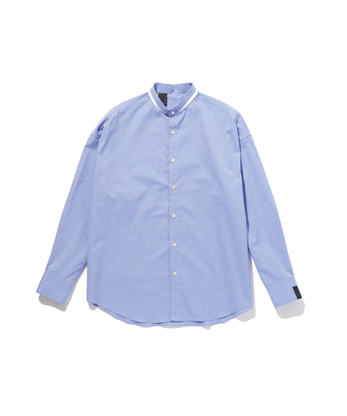 FALL2019 STAND COLLAR SHIRT