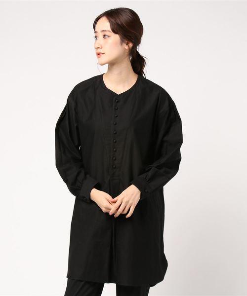 お買い得モデル 【HAVERSACK】〈別注〉モールスキンノーカラーシャツ WOMEN(シャツ Bshop/ブラウス)|HAVERSACK(ハバーザック)のファッション通販, APAKABAR (アパカバール):94ca93e8 --- aclatic.com