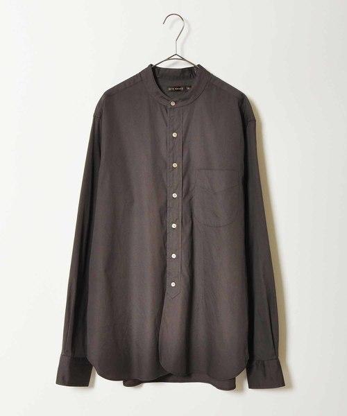 ★お求めやすく価格改定★ 【Scye】バンドカラーシャツ Collar/ FINX FINX Cotton Oxford Grandad Collar SELECT Shirts(シャツ/ブラウス)|Scye(サイ)のファッション通販, 生地と手芸の店 キンカ堂池袋KN店:4c1cc7b5 --- kredo24.ru