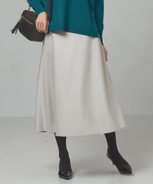 <closet story>□フレア ロングスカート