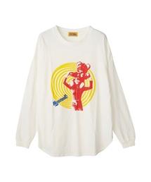 DREAMING GIRL オーバーサイズTシャツホワイト