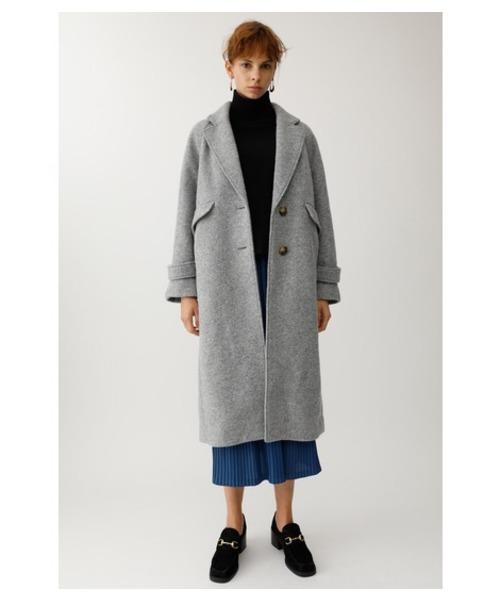 ホットセール SINGLE BREASTED WOOL WOOL COAT(その他アウター)|MOUSSY(マウジー)のファッション通販, 越路町:57e7abfb --- skoda-tmn.ru
