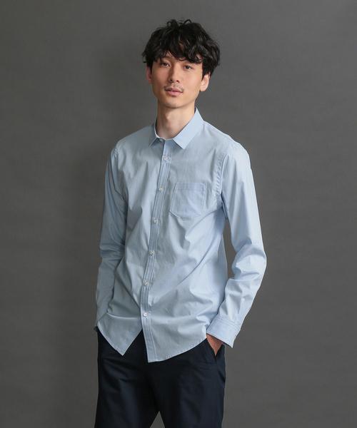 【LOVELESS】MEN はっ水ブロードシャツ
