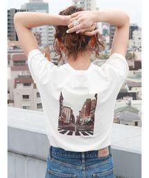 Ungrid(アングリッド)のバックフォトプリントTee(Tシャツ/カットソー)