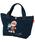 ANPANMAN KIDS COLLECTION(アンパンマンキッズコレクション)の「【アンパンマン】刺繍ランチトートバッグ アンパンマンばいきんまん(トートバッグ)」|ネイビー