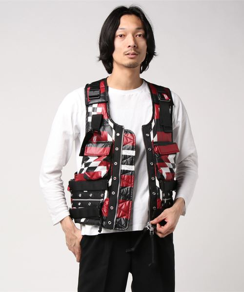 TATRAS×SOLOIST (タトラス×ソロイスト) flight vest.