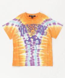 BEAR ON MUSHROOM Tシャツ【S/M】オレンジ