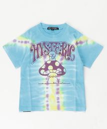 BEAR ON MUSHROOM Tシャツ【S/M】ブルー
