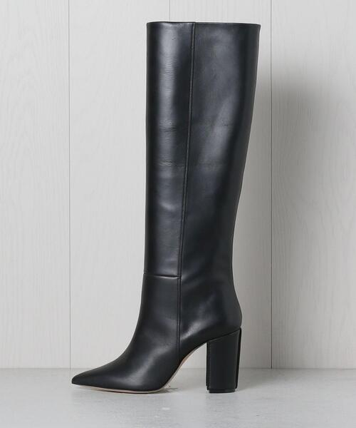 <PIPPICHIC>LEATHER LONG BOOTS/ブーツ.