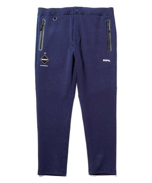 F.C.Real Bristol(エフシーレアルブリストル)の「FLAT HEM SWEAT TRAINING PANTS(その他パンツ)」 ネイビー