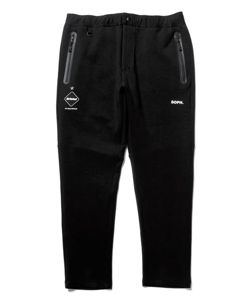 F.C.Real Bristol(エフシーレアルブリストル)の「FLAT HEM SWEAT TRAINING PANTS(その他パンツ)」 ブラック