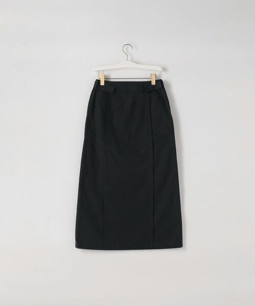 <THE HINOKI>POPLIN SKIRT/スカート Ψ