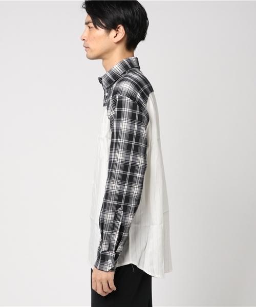 Lanigiro/ラニジーロ/Switching Layered Shirts