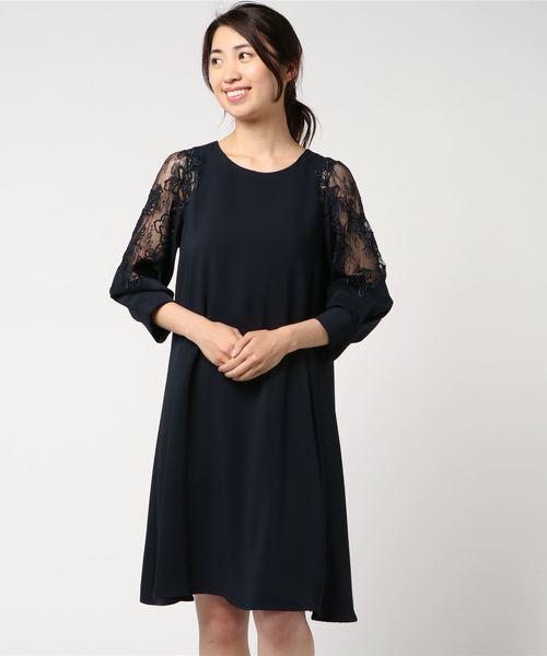 送料無料 刺繍レーススリーブ ゆったりコクーンシルエットワンピース(ドレス) brille,ヴィルカ/ Doll/|Luxe Luxe brille(リュクスブリエ)のファッション通販, ニシヨシノムラ:ca9f509c --- ulasuga-guggen.de