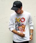 Schott/ショット/LONG SLEEVE T-SHIRT KEITH HARING/ロングスリーブ Tシャツ キースヘリング(Tシャツ/カットソー)