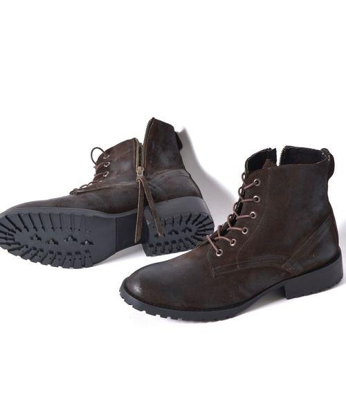 【破格値下げ】 CAMINANDO: エクスクルーシブ スエードジップブーツ■(ブーツ) SHIPS|CAMINANDO(カミナンド)のファッション通販, シューズストア アビック:d817975d --- 888tattoo.eu.org