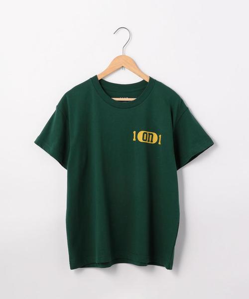 カレッジプリントリラックスTシャツ