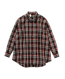 SPRING2020 BIG SHIRT 【N.HOOLYWOOD REBEL FABRIC BY UNDERCOVER】ブラック系その他