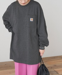 carhartt(カーハート) Workwear Pocket Long-Sleeve T-Shirts ポケットロングTシャツグレー系その他