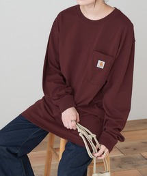 carhartt(カーハート) Workwear Pocket Long-Sleeve T-Shirts ポケットロングTシャツワイン