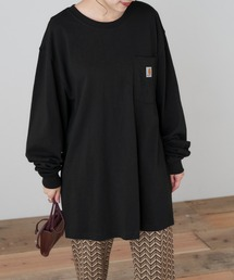 carhartt(カーハート) Workwear Pocket Long-Sleeve T-Shirts ポケットロングTシャツブラック
