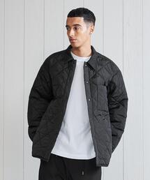 <H>OLMETEX QUILTING OVER SHIRT/シャツジャケット