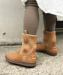 Minnetonka(ミネトンカ)の【MINNETONKA】ミネトンカ   KNITBOOT/リブニットブーツ(ブーツ)