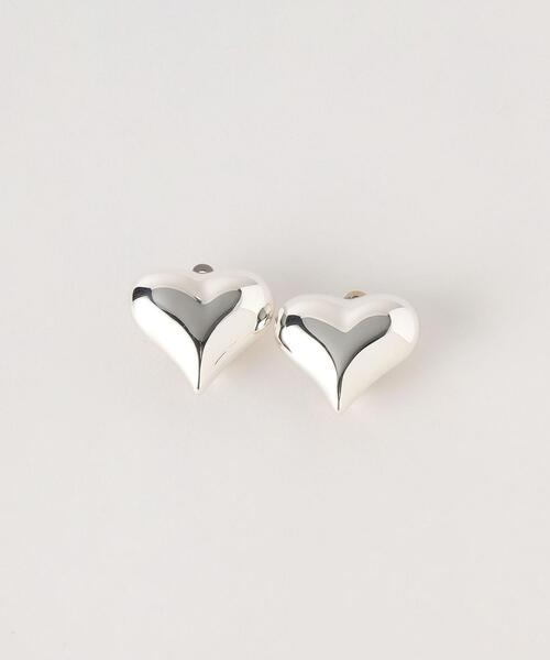 <MEXICO SILVER JEWELRY>ハートイヤリング/SILVER 925