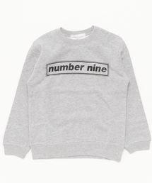 NUMBER (N)INE(ナンバーナイン)のkids キッズ ロゴクルーネックスウェット(スウェット)