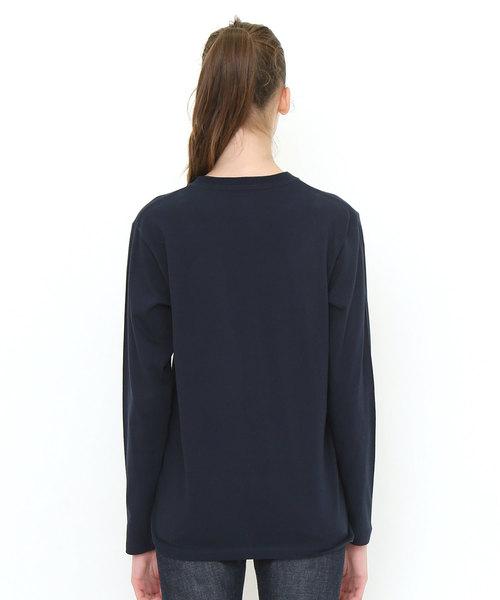 ロングスリーブTシャツ/ミスチーフボックスロゴ