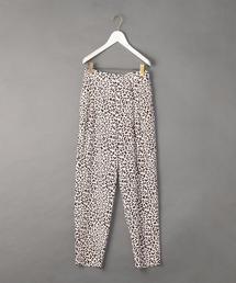 <6(ROKU)>LEOPARD PRINT PANTS/パンツ