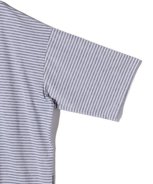 VAPORIZE / Mock Border T-shirt