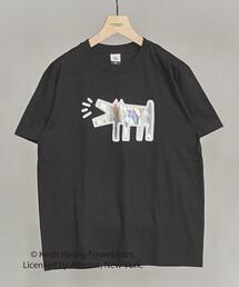 【別注】 <KEITH HARING> mirror DOG TEE/Tシャツ