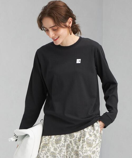[ ザ ノースフェイス ] ★★SC THE NORTH FACE スモール ボックス ロゴ ロングスリーブ Tシャツ