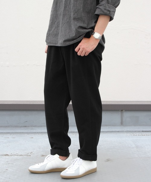GRAMICCI/グラミチ ウールブレンド タックテーパードパンツ WOOL BLEND TUCK TAPERED PANTS GMP-21F057