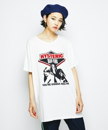 HYSTERIC GLAMOUR(ヒステリックグラマー)のBAD GIRL pt ビッグT-SH(Tシャツ/カットソー)