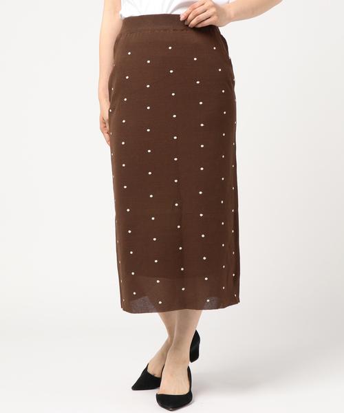 ファッションの 【セール】TORRAZZO ドット柄 スカート(スカート)|Torrazzo Donna(トラッゾドンナ)のファッション通販, ミシン専門店 ミシンランド:0e5e8002 --- fahrservice-fischer.de