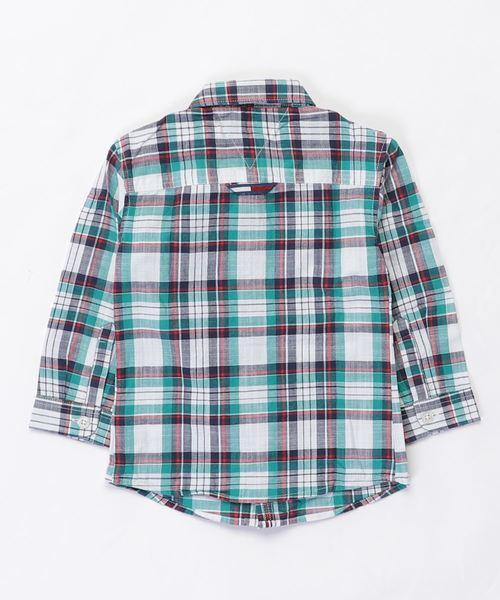 マルチ カラー チェック シャツ
