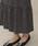 nano・universe(ナノユニバース)の「フラワーフロントボタンスカート(スカート)」|詳細画像