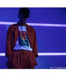 <STAR WARS × MAGIC STICK> CANTINA BAND LS T/Tシャツ