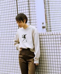 ★★ 別注 [ ブランダライズド ] BRANDALISED GLR Flower Bomber ロンT 男女兼用 ユニセックス
