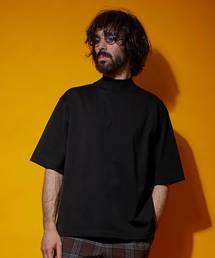UNITED TOKYO(ユナイテッドトウキョウ)のギザコットンモックネックTee(Tシャツ/カットソー)