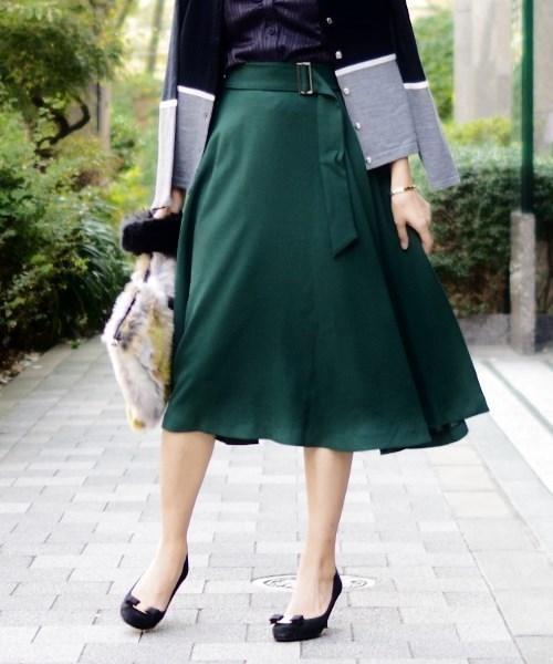 輝い 【セール】マットポリエステルアシメフレアスカート(スカート)|NARACAMICIE(ナラカミーチェ)のファッション通販, 保土ヶ谷区:4770611f --- blog.buypower.ng