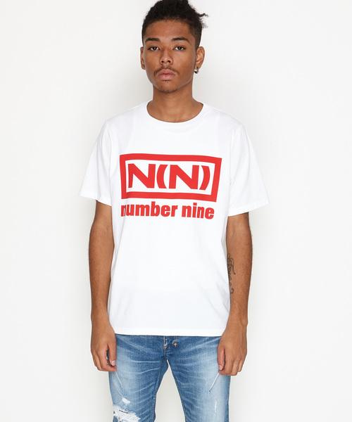 NUMBER (N)INE(ナンバーナイン)の「N(N)_T-SHIRT(Tシャツ/カットソー)」 ホワイト