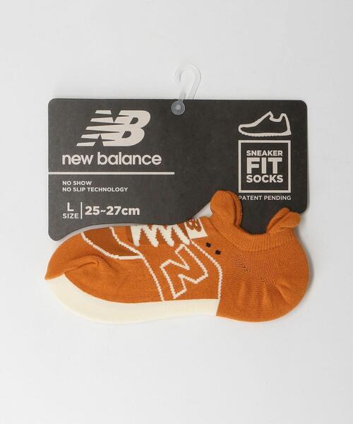 <New Balance(ニューバランス)>スニーカー柄 ソックス