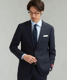 [ 御幸毛織 ] シャドウ ストライプ 2B SG NT HP- スーツ ジャケット