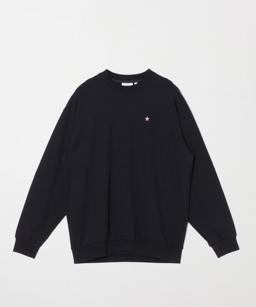CONVERSE TOKYO(コンバーストウキョウ)の「テーマロゴスウェットシャツ(スウェット)」|ブラック