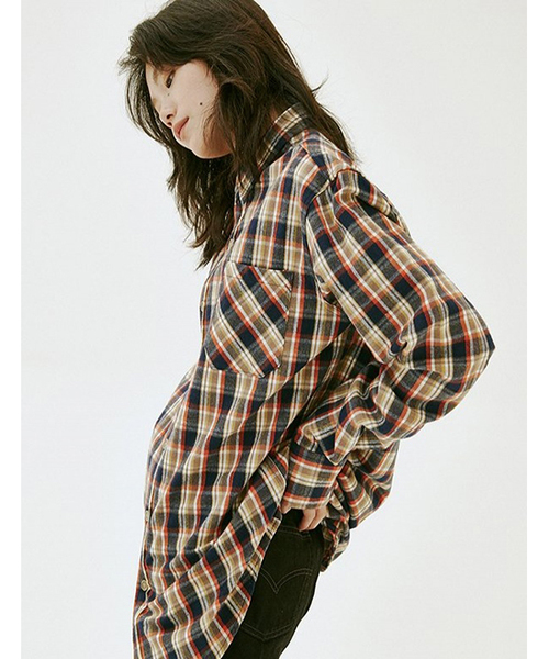 【ESTO】NB 01 チェックシャツ